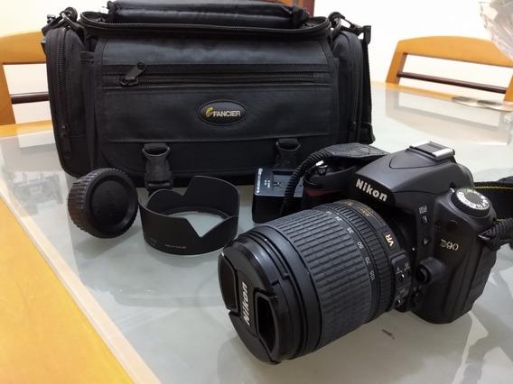 Camera Nikon D-90 Com Lente 18-105