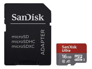 Cartão Memória Sandisk Ultra 16gb Micro Sd Hc Uhs-i 98mb/s