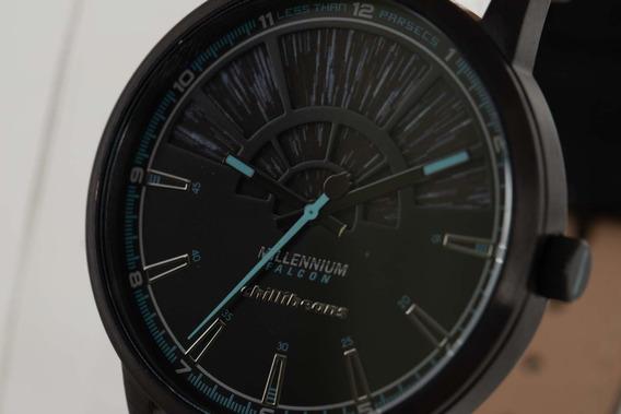 Relógio De Pulso Star Wars Millenium Falcon Preto