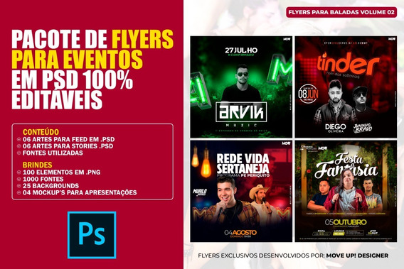 Pacote De Flyers Para Eventos Em Psd 100% Editáveis #2