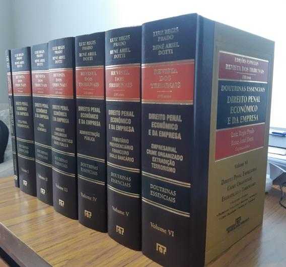 Doutrinas Essenciais Direito Penal Econômico E Da Empresa