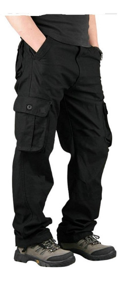 Pantalon Cargo Men Warrior Reforzado Hard Work Militar Ffaa