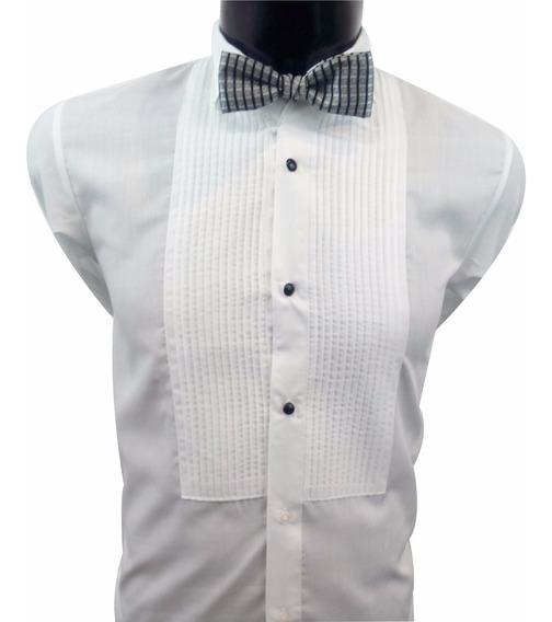 Camisa De Etiqueta / Cuello De Paloma