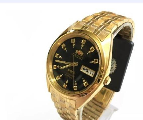 Relógios Orient Automático Masculino Dourado