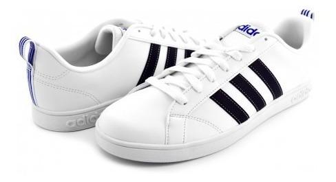 Tenis adidas F99256 Ftwwht/cblack/blue Vs Advantage 25-32 C