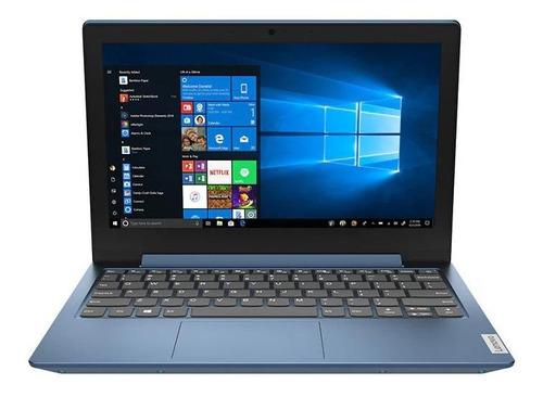 "Imagen 1 de 7 de Laptop Lenovo IdeaPad 14IGL05  ice blue 14"", Intel Pentium Silver N5030  4GB de RAM 128GB SSD, Intel UHD Graphics 605 1366x768px Windows 10 Home"