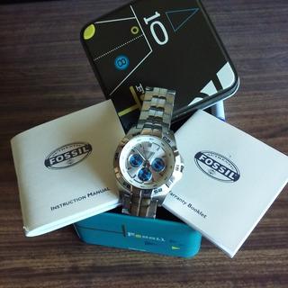Reloj Pulsera Fossil Blue Bq-9303 Sin Uso