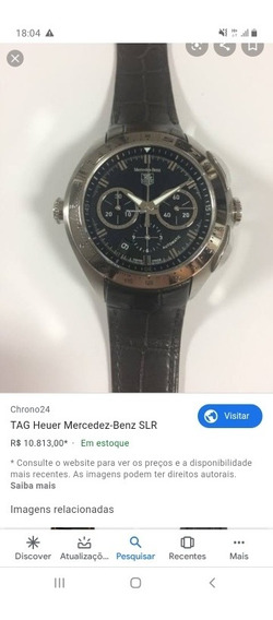 Relogio Tag Heuer Mercedes Benz