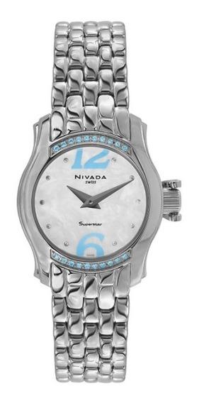 Reloj Nivada Superstar Nvng3162lacbaa Dama Original E-watch