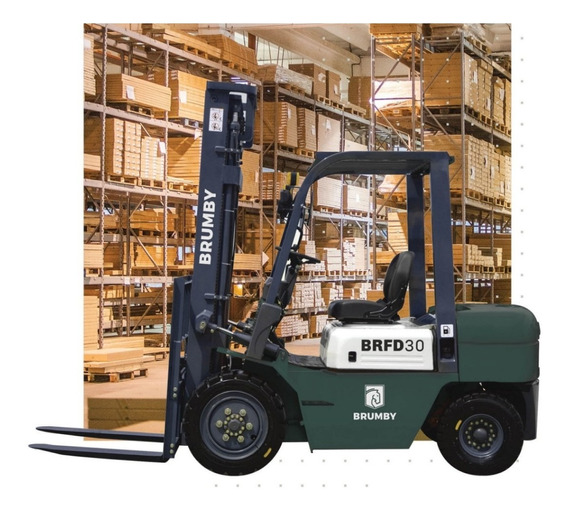 Autoelevadores Brumby 2.5 Diesel Preventa Xinchai / Isuzu