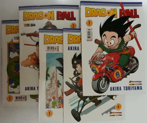 M8719 Manga Dragon Ball V 01 02 03 04 05 Akira Toriyama