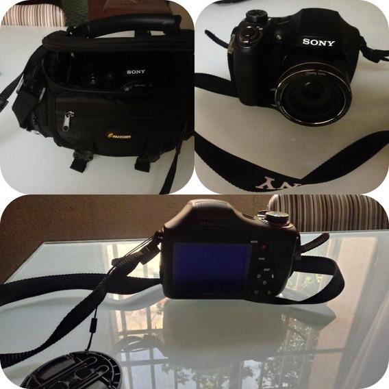 Câmera Digital Sony Dsc-h300 20.1mp Zoom 35x