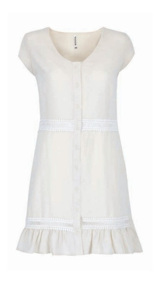Vestido Beige 109-248 Rinna Primavera-verano 2020