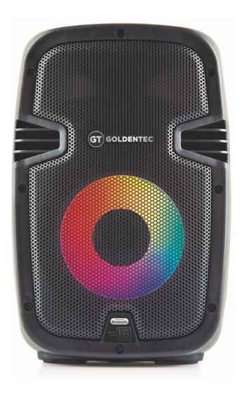 Caixa De Som Amplificada Gt150 Goldentec 150w Rms Bluetooth