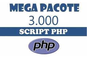 Mega Pacote 3000 Scripts Php - Diversos (entrega Imediata)