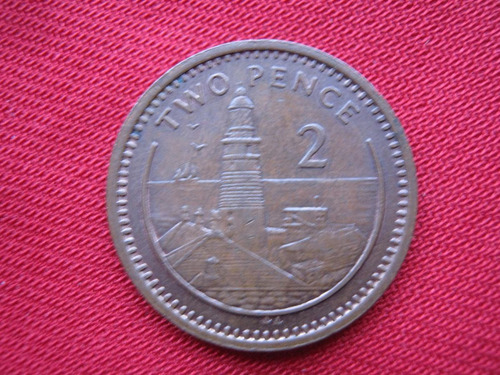 Imagen 1 de 2 de Gibraltar 2 Pence 1994