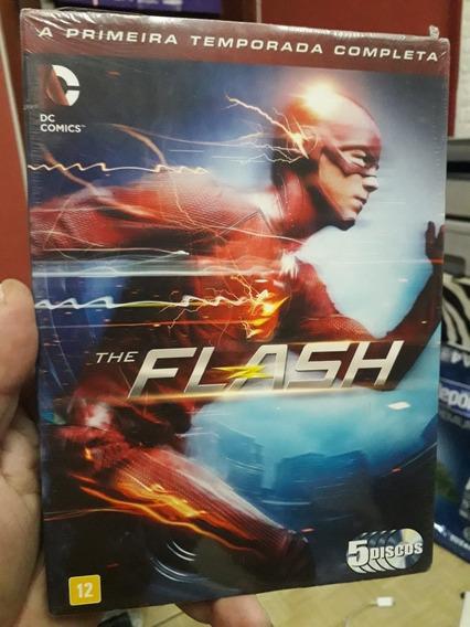 Dvd Box: The Flash - Primeira Temporada Completa - 5 Discos