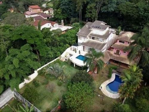 Sobrado Com 4 Dormitórios À Venda, 700 M² Por R$ 2.200.000 - Vila Santo Antônio - Cotia/sp - So2136