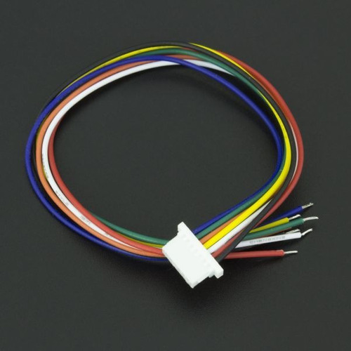 Cable Conector 7p Micro Jst 1 Mm Hembra 15cm