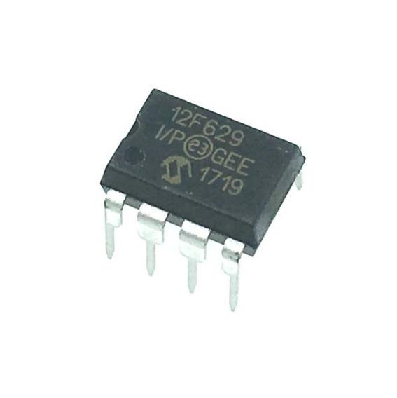 Pic 12f629 Pic12f629i Pic12f629 Mcu Microchip Flash Dip8