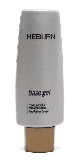 Heburn Maquillaje Cod 180 Base Gel Tonalizadora Light