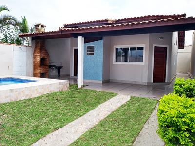 Linda Casa Com Piscina Em Itanhaém