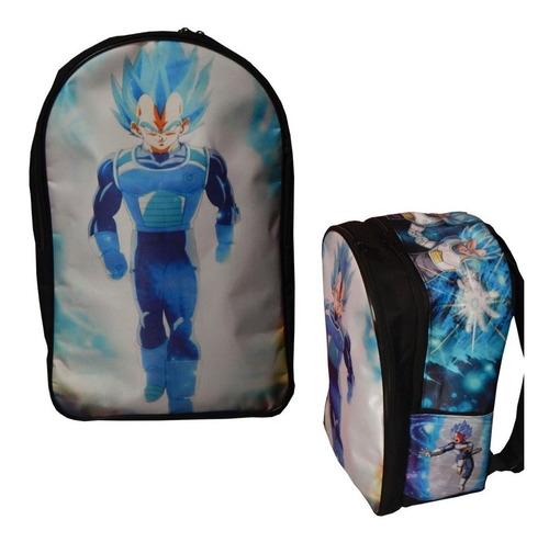Dragon Ball Super Mochila Backpack Vegeta Sayayin Dios