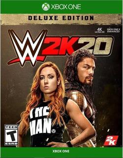Wwe 2k20: Deluxe Edition | Juego Completo Xbox One Renta
