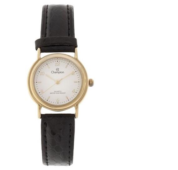 Relógio Feminino Champion Ch25374b Analógico 5 Atm