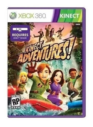 Jogo Kinect Adventures Mídia Física Xbox 360