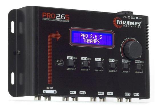 Equalizador Processador Taramps Pro 2.6s Digital Crossover