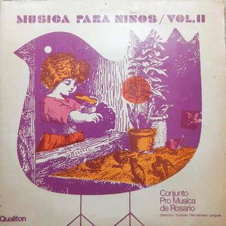 Pro Musica De Rosario Vol 2. Lp. Disco De Vinilo. 1972