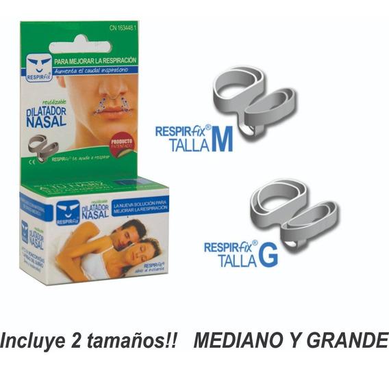 Más Aire A Tu Nariz, Dilatador Nasal,incluye 2 Tamaños