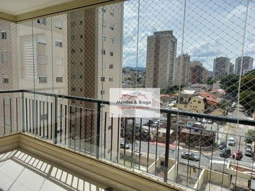 Imagem 1 de 12 de Apartamento À Venda, 81 M² Por R$ 590.000,00 - Jardim Zaira - Guarulhos/sp - Ap2782