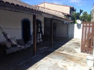 Casa Barata Lado Praia, 2 Dorm + Edícula, 700 Metros Do Mar!