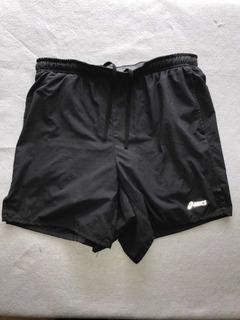 Shorts Deportivos Asics Negros Con Licras