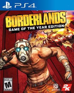 Borderlands Goty Ps4 Disco, Nuevo Y Sellado