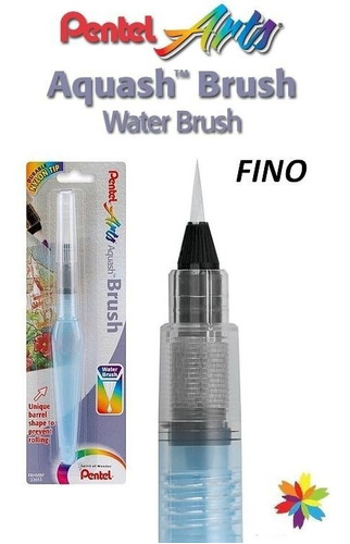 Waterbrush Pincel De Agua Pentel Fino Japon. Barrio Norte..