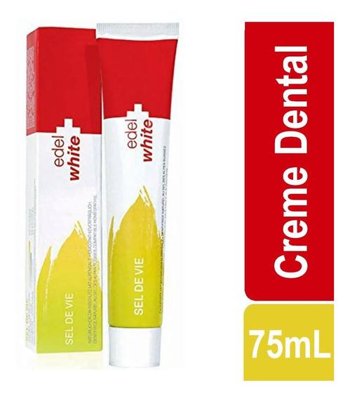 Creme Dental Suíço Edel-white Sel De Vie 75ml