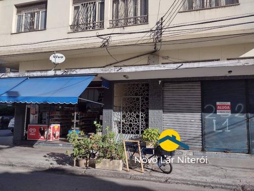 Loja Em Ponto Estratégico No Centro De Niterói 50 M²(locação) - 243