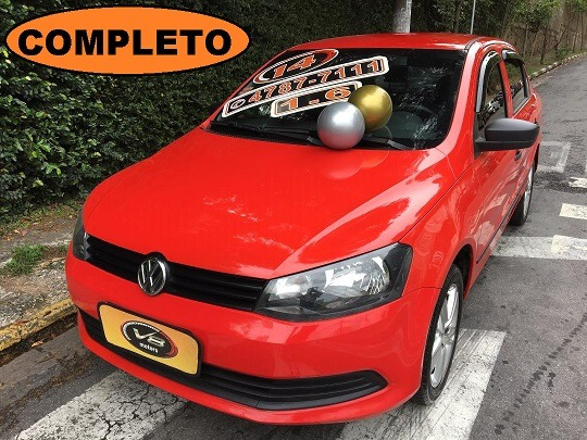 Volkswagen Voyage 1.6 / Voyage Vermelho 2014