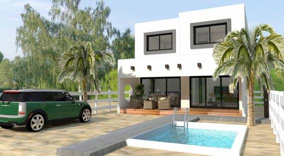 Hermosa Casa Nueva En Venta Con Alberca En Chicxulub