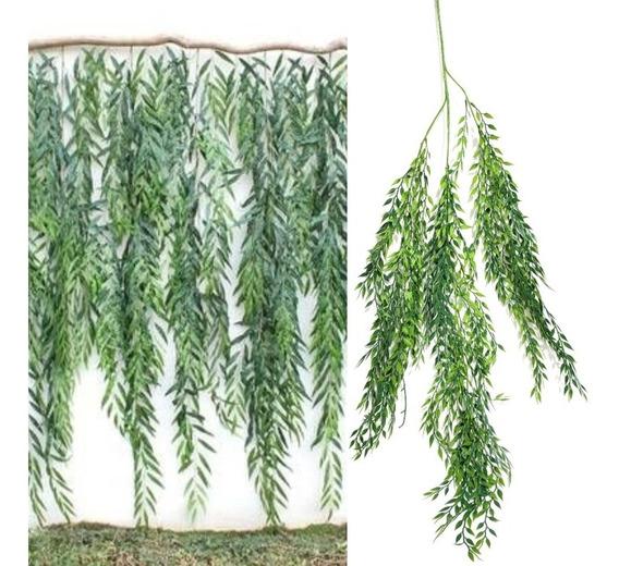 Planta Colgante Verde Planta Artific Sauce Decoración Evento