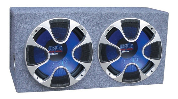 Pyle Caja Doble Subwoofer Plbs122 12 1000 Watts