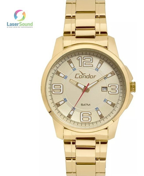 Relógio Condor Masculino Co2115ktj/4d, C/ Garantia E Nf