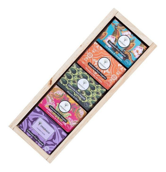 Kit Para Banho Puro Vegetal E Vegano - 5 Fragrâncias