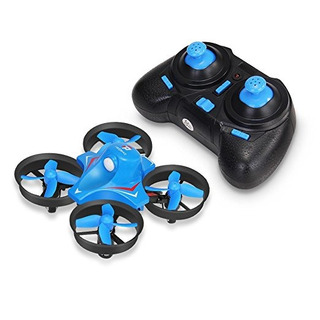 Redpawz R010 Mini Drone 2.4g 4 Canales 6axis Gyro Sin Cabeza