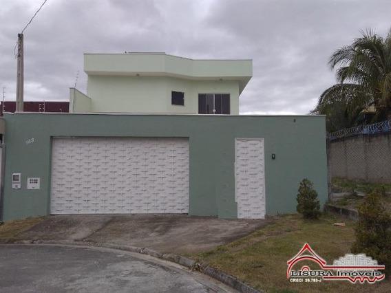 Linda Casa No Villa Branca Jacareí Sp 4 Dormitórios - 6359
