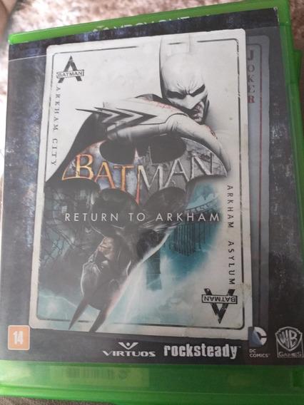 Jogo Batman Return To Arkhan Xbox One