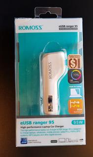 Carregador Veicular P/ Notebook / Celular / Tablet 2 Usb